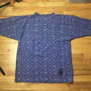 Vintage Ocean Pacific All-Over Patterned Tee